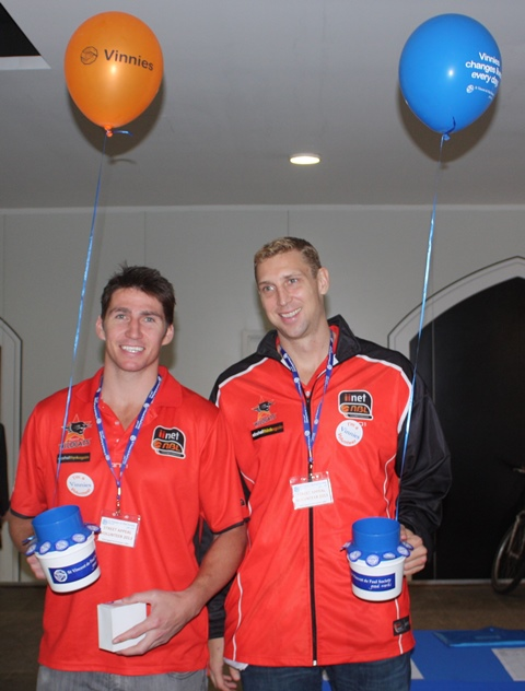 Perth Wildcats players