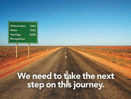 Reconciliation Australia provided this image to reflect the next steps that can be taken on the path to reconciliation.