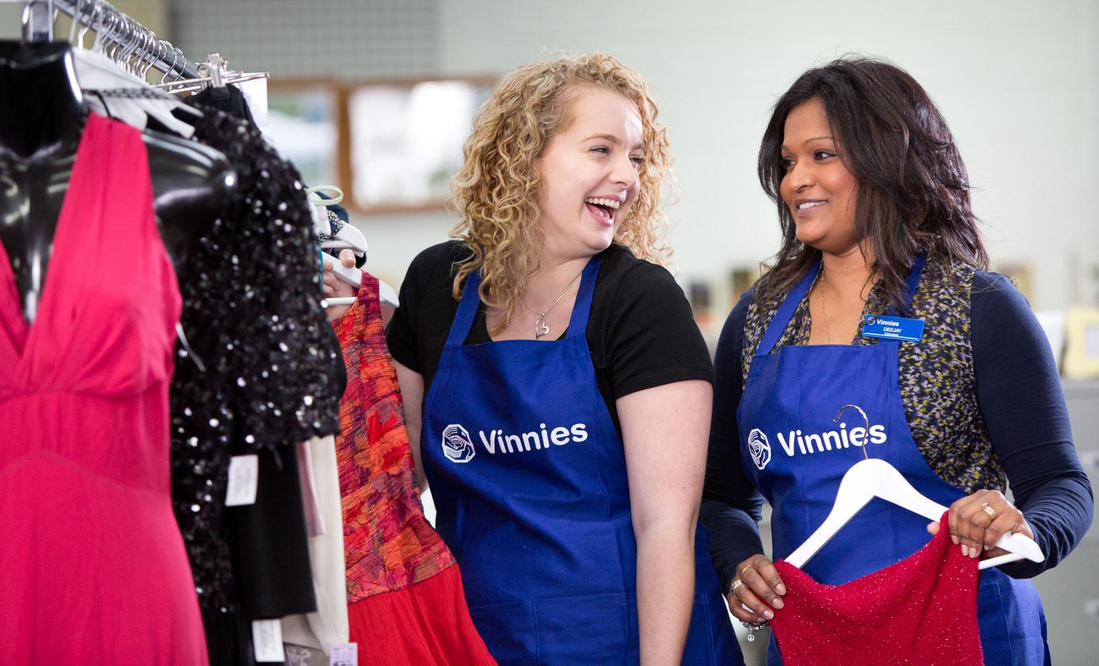 Volunteer in our Vinnies Shops