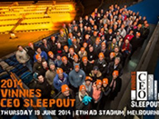Melbourne's 2015 Vinnies CEO Sleepout | Thank you all