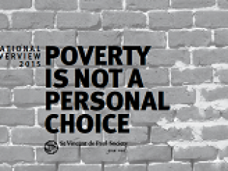 Annual Overview 2015 Poverty is not a personal choice