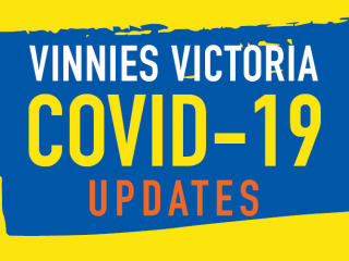 Vinnies Shops says, 'Welcome back Melbourne!'
