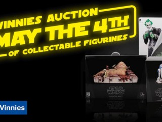 Vinnies' online auction: Out of this world