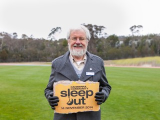 We are launching the Canberra Community Sleepout – Lets Wake Up to a better Canberra!